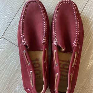 Men suede mocassini,bought in Italy,absolutely new